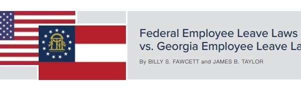 Federal v GA State leave laws